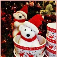 Мишутка в новогоднем кашпо. :: Валерия Комова