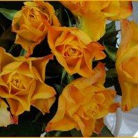 Букет желтых роз :: Вера