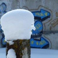 Граффити и скульптура :: Валерий Талашов