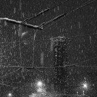 Тишинская площадь, вечер, снегопад :: Максим Должанский
