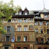 Фрески на здании Отеля Весов :: Елена Павлова (Смолова)