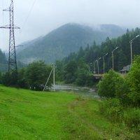Вид  на  Карпатские  горы :: Андрей  Васильевич Коляскин