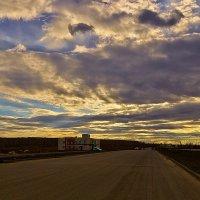 Дорога и небо ... и чего-то там ещё... :: Vitali Belyaev