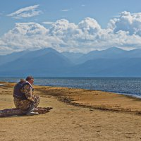 Наедине с Байкалом :: val-isaew2010 Валерий Исаев
