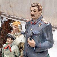 Сталин с пионерами :: Владимир Болдырев