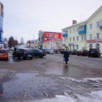 Декабрьские лужи :: Алексей Golovchenko