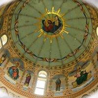 Купол Благовещенского храма в честь св. праведной Анны. :: Сергей и Ирина Хомич