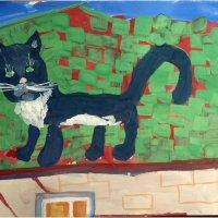 Кот на крыше *** Cat on the roof :: Александр Борисов