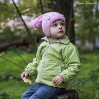 сяду на пенек...возьму и съем..печеньку) :: Сергей Карпенко