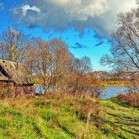 Баня  на  берегу. :: Валера39 Василевский.
