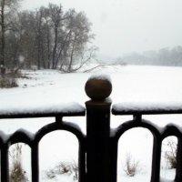 Такая редкость - нынешние снеги :: Алексей Соколов