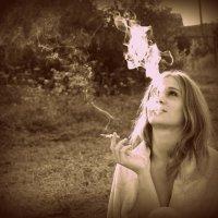 """""""если есть в кармане пачка сигарет.."""" :: Анастасия"""