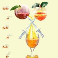 Сок из персика и  абрикоса :: Наталья-13 Аветова