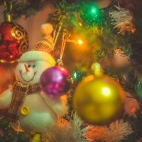 Снеговичок.... :: Ирина Малинина