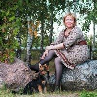 Дама с собачкой :: Наталья Лачкова