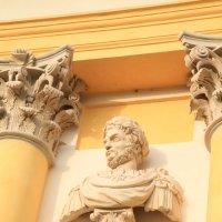 Лепной декор, летняя резиденция польских королей :: Gennadiy Karasev