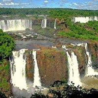 Водопады реки Игуасу :: Сергей Карачин