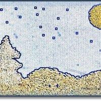Новый год в рисово-гороховом исполнении :: Лидия (naum.lidiya)