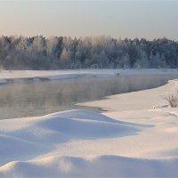 Тверца замерзает :: Павлова Татьяна Павлова