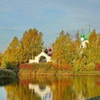 Церковь святого Сергия Радонежского на Средней Рогатке :: Владимир Гилясев
