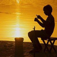 Ловец солнца :: Александр Кафтанов