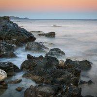 Владимир Пахомов - Вечерний пейзаж побережья острова Родос Греция
