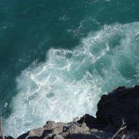 Взгляд со скалы вниз :: Ирина Н