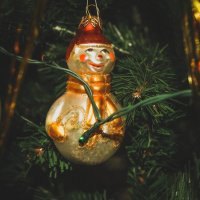 Снеговик, ты не растаешь. :: Света Кондрашова