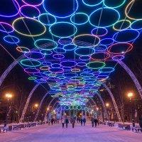 Новогодние Сокольники :: Антон Мазаев