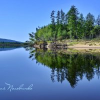 Река Кава зеркало природы.  Колыма  21 :: Виталий Половинко