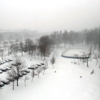 Белым снегом город замело... :: Лариса Корженевская