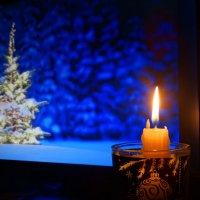Новогодняя свеча :: Натали Акшинцева