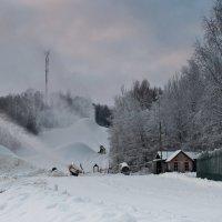Производство снега :: Елизавета Вавилова