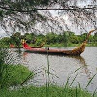Таиланд. Окрестности Бангкока. Старинные ладьи :: Владимир Шибинский