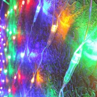 Новогодние гирлянды :: Ася Довгополая
