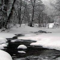 Зимняя речка :: Константин Филякин
