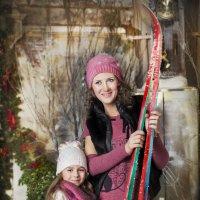 Очаровательные лыжницы :: Юлия Ерошевская
