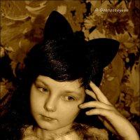 Кошечка. :: Anna Gornostayeva