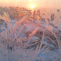морозный закат :: tgtyjdrf