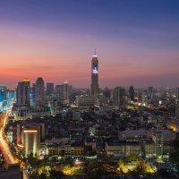 Закат над Бангкоком :: Вадим Лячиков