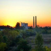 Промышленный пейзаж тоже может быть красивым-2 :: Валентина Данилова