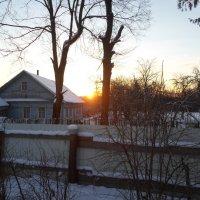 Раннее утро в деревне :: BoxerMak Mak