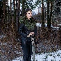 Девушка-воин. :: Александр Лейкум