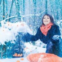 Мороз и снег! :: Сергей Ромадин