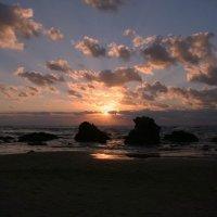 Закат на Средиземном море... :: Юрий Поляков