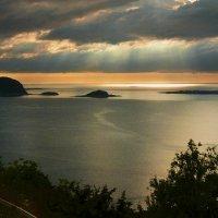 Норвежское море. Закат :: Клара Кузнецова