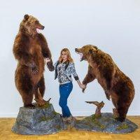Девушка и два медведя :: Николай Ефремов