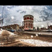 Водонапорная башня :: Андрей Косых
