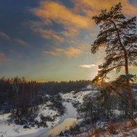 ветер сдувает снег :: юрий макаров