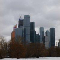 Московские небоскребы :: Galina Leskova